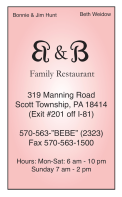 B&B Family Restaurant