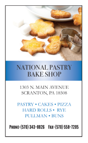 National Pastry Bake Shop