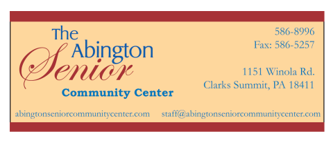 The Abington Senior Center