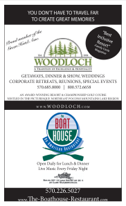 Woodloch - The Boat House